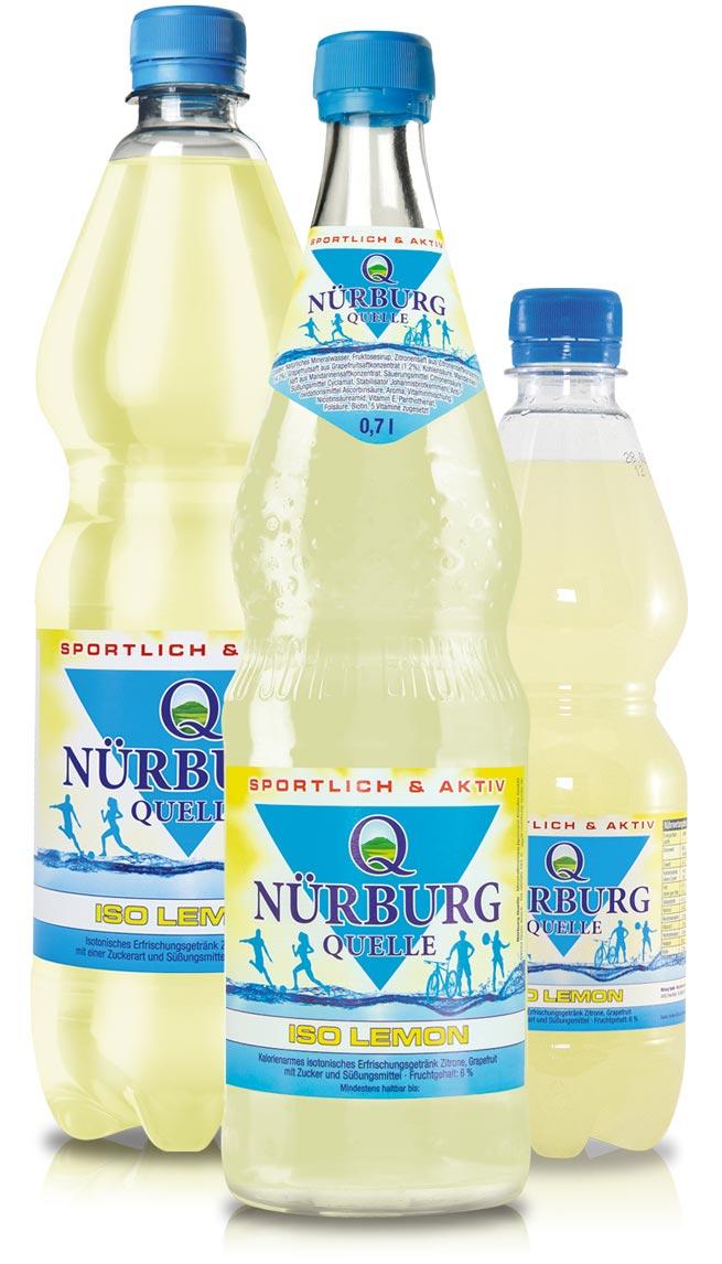 Nürburg Quelle Iso Lemon Sportgetränk - Sportlich & Aktiv
