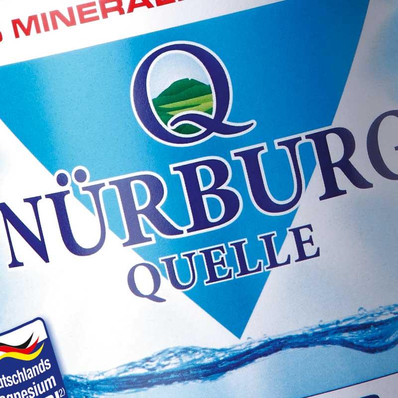 Nürburg Quelle Mineralwasser, das Mineralienwunder aus der Vulkaneifel