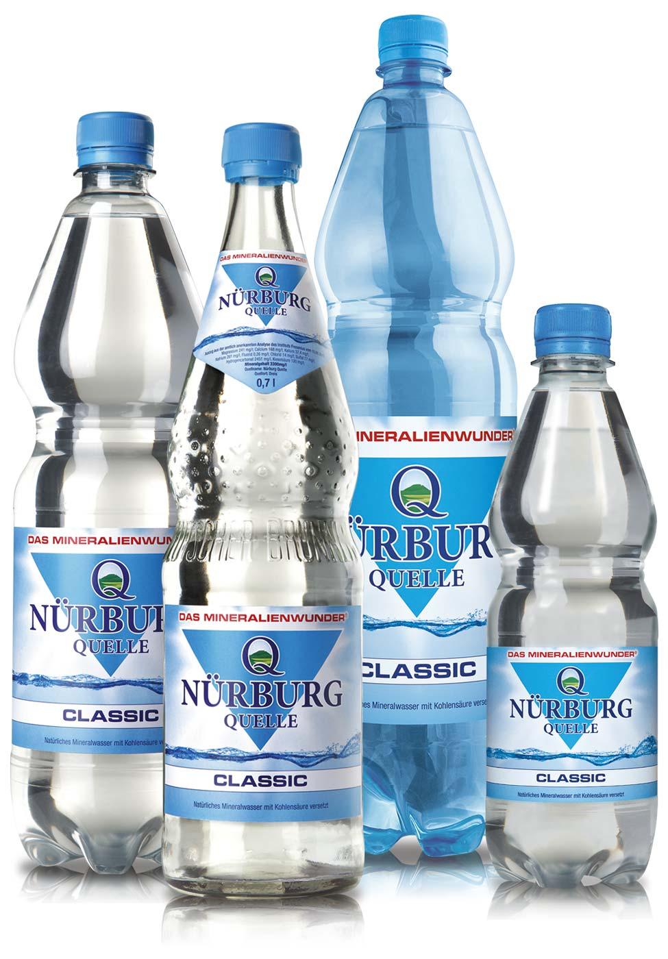 Nürburg Quelle Mineralwasser Classic - Das Mineralienwunder