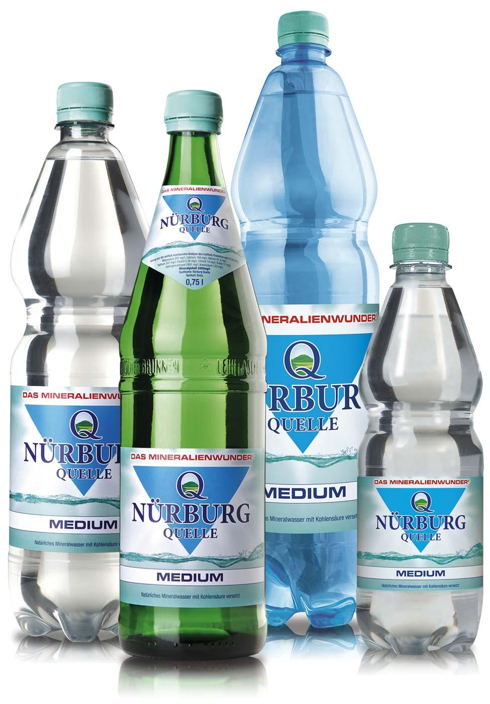 Nürburg Quelle Mineralwasser Medium - Das Mineralienwunder