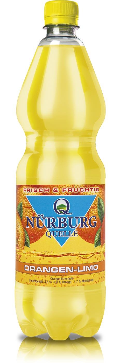 Nürburg Quelle Limonaden - frisch und fruchtig